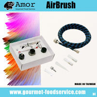 Air paint control internal mix airbrush sets