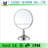 Chrome desktop novelty mirrors