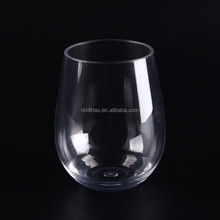 450ml and 16oz Tritan Stemless Wine Glasses