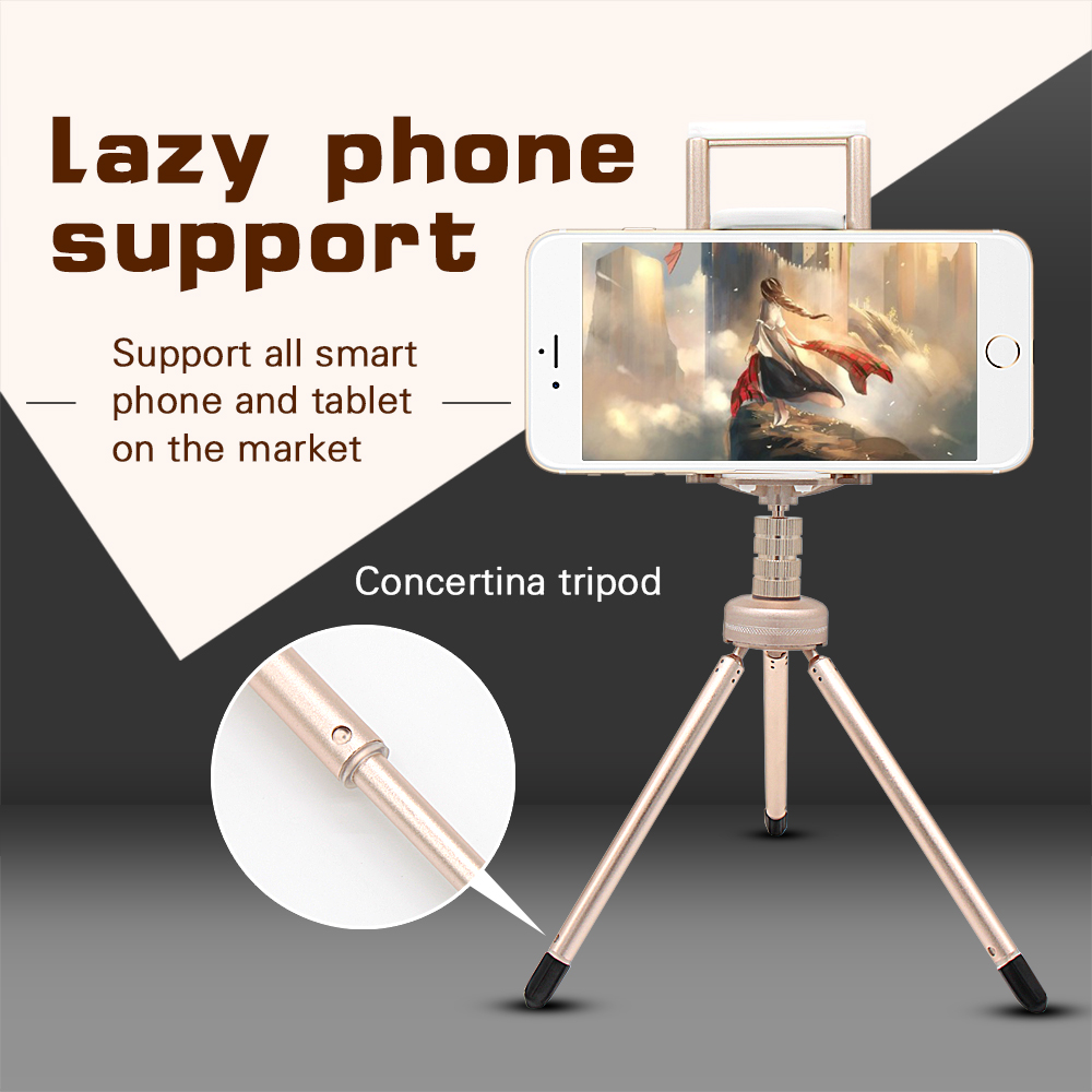 Promotion Gift Mini Tripod for Phone Flexible Professional Tripod Phone Stand Adjustable Leg Mobile Phone Stand