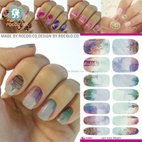 K5663/Water Transfer Nails Art Sticker Nail Sticker Manicure Decor Tools Cover Nail Wraps Decals