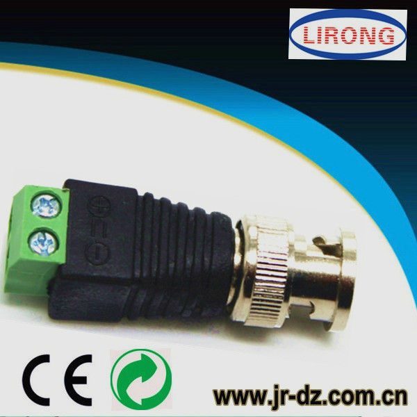 how to connect bnc connector to cable