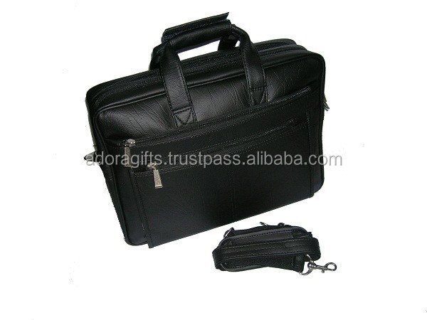 laptop bag pack bags and cases / personalized leather laptop bag for women / black pu leather laptop bags