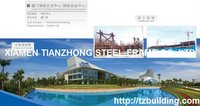 Government Project City Exhibition Center with Steel Structure