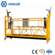 High rise building cleaning zlp series electric bmu cradle/ gondola