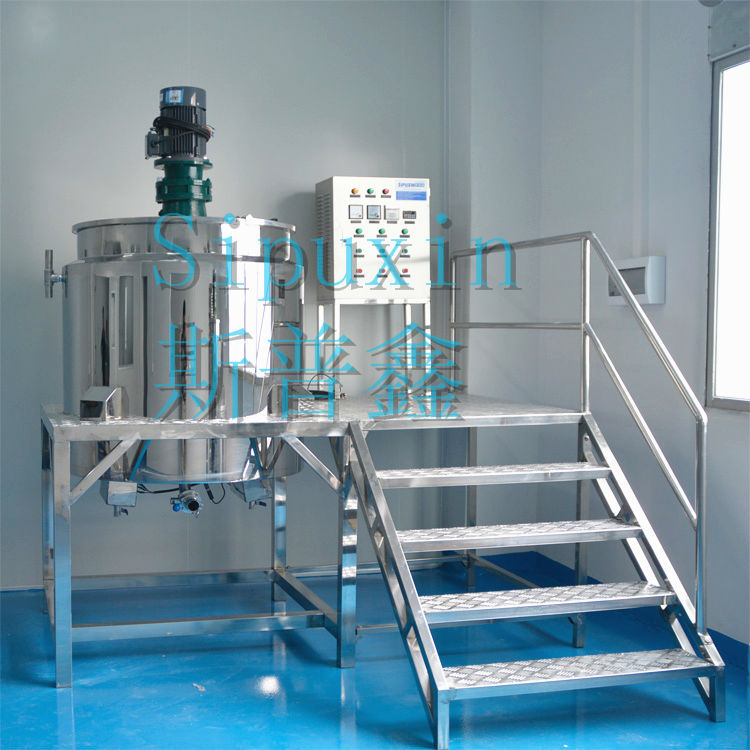 SPX Stainless Steel Mixing Tank In Mixing Equipment, Car Paint Mixing Machine For Small Business