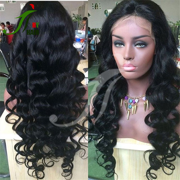 Sell human hair lace front wigs online China best wig suppliers online wig shop