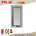 China supplier Power coated double glazed aluminum window with AS2047