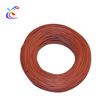 Silicone Rubber Carbon Fiber 12v heating wire nichrome wire