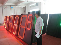2 Prices -led gas price sign/gas price digital board/outdoor four number led gas price sign
