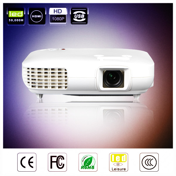 New HD 1080p full hd tv led xxl tv movie sex water proof led projector with HDMI,USB,VGA,AV Port.