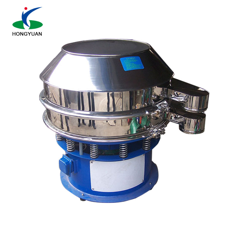 size grading sieve machine 1-5 layers rotary vibrating screen