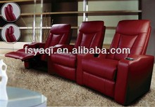 Cinema salon seating recliner leisure chair bed chesterfield sofa