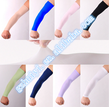 Custom printed cycling arm warmers nylon spandex arm sleeve