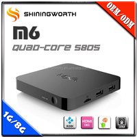 Hot Selling s805 USB 2.0 H.264 H.265 KODI HD18q MQX Android 4.4Dual Core Android Smart TV Box Supplier