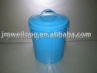Multi-functional Metal Garbage Bin & Pet Food Container /Metal Storage Container/Cat/Dog Food Holder Cabinet