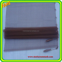 Decorative colorful metal fireplace screen wire mesh for curtain