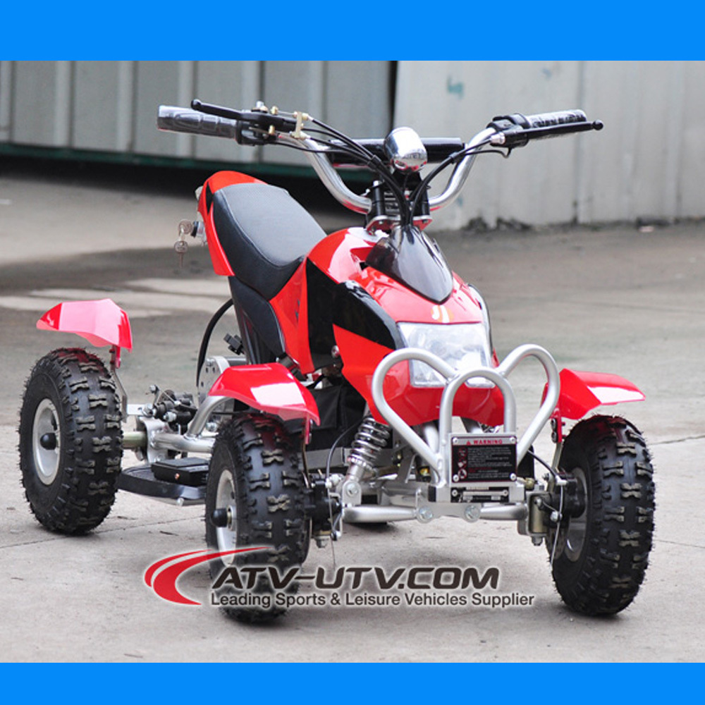 NEW MODEL 350W mini quad atv for kids with 36V and 48V battery optional