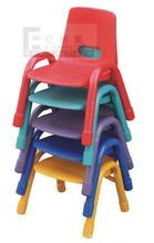 children furniture colorful stackable plastic chairs for kids