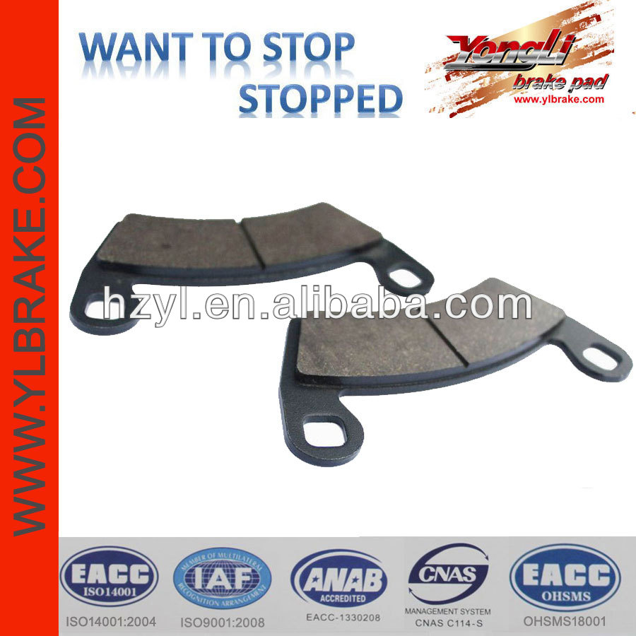 chinese atv cheap brake pads