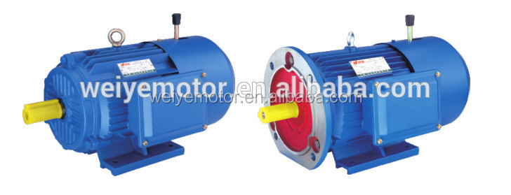 China manufacture direct supply YEJ series electromagnetic braking three phase induction motor