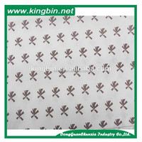 Factory design colorful paper guangzhou leopard printing tissue paper