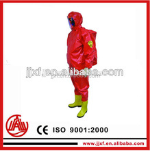 Fireman safety chemical protective fighting clothing