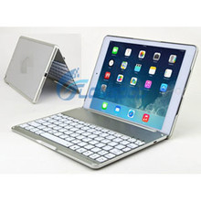 2014 Notebook Wireless Bluetooth Keyboard Cover Hard Case For iPad 5 Air