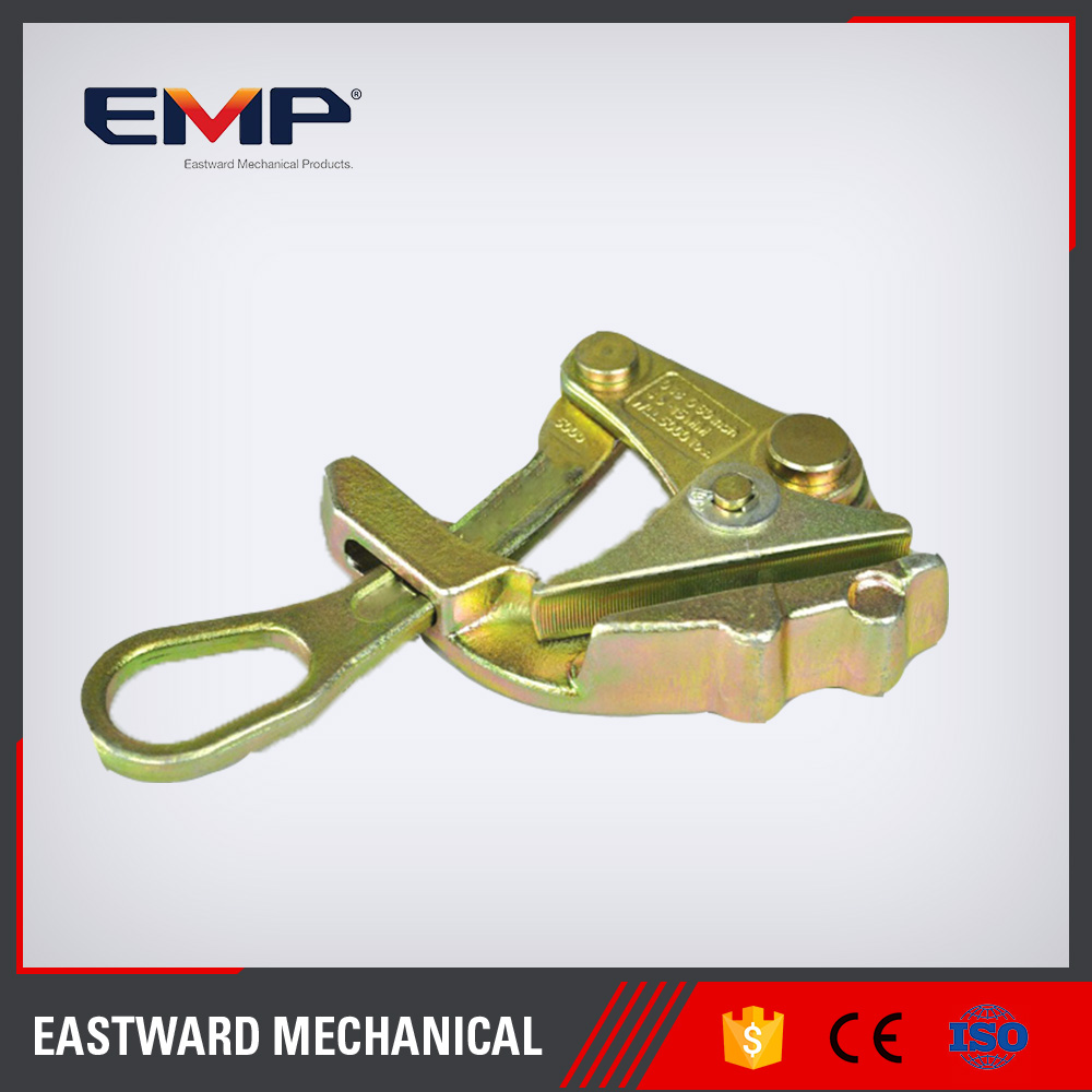 Hot Dip Galvanized Electrical Wire Rope Tightener Clamp For Electric Power Fittings
