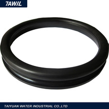 dn100 rubber gasket for ductile iron pipe