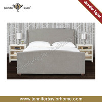 Jennifer Taylor latest design king size pine wood bed frame