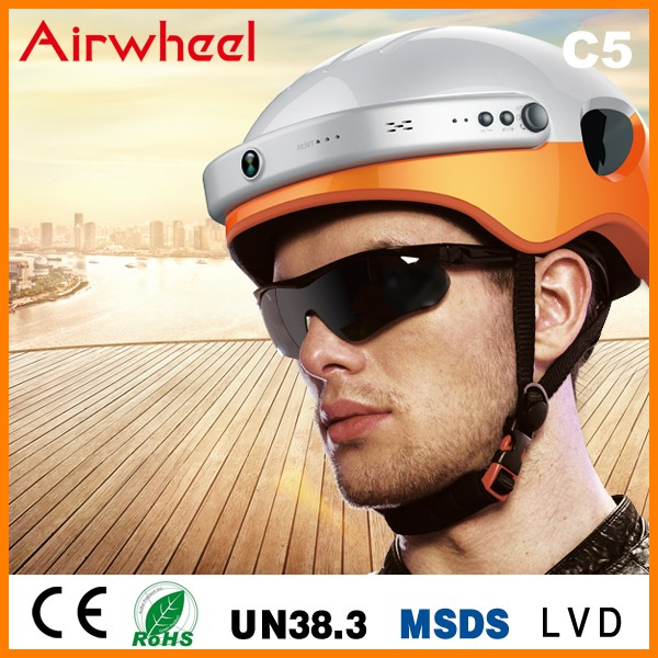 Innovative products 2,000mAh battery bike cycling bluetooth helmet with built in camera WIFI for App