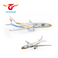 fancy static A330 model aircraft birthday items for souvenir