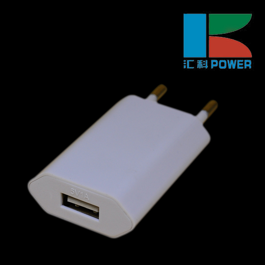 Micro usb charger White Universal USB Wall charger power supply 5V 1A adapter with CE FCC RoHS certificate