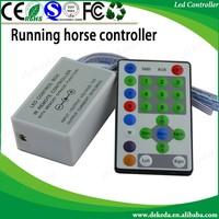 Chasing Running Strip RGB LED Controller IR 25 Keys led controller DC12-24V