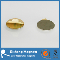 strong neodymium disc magnet 467 3m adhesive magnet