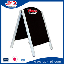 Factory directly Metal frame Blackboard a frame chalkboard standing with chalk