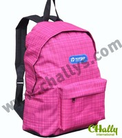 Fashion promotional plain color backpack