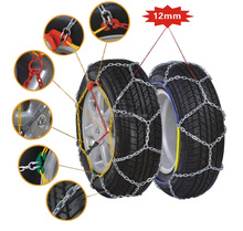 OEM service 9mm 12mm 4wd snow tire chain for car with certification
