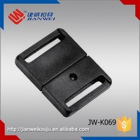 Manufacture Small plastic insert belt buckle , quick release plastic buckle for backpack JW-K069