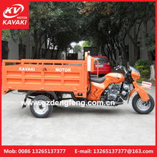 Loncin 200cc 250cc heavy load cargo semi closed motorcycle truck 3-wheel tricycle/chinese cargo two seats tricycle with cabin