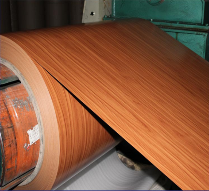 wooden/brick/stone grain aluminum coil from China with competitive