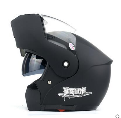 YM-921 motorcycle helmet double visor helmet flip up helmet with DOT certification