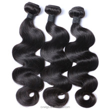 Soft and smooth silk straight hair weave color 530