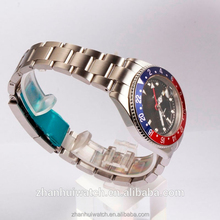 GMT 316L stainless steel case and band automatic watch for men