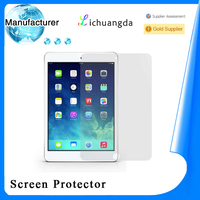 Newest premium tempered glass screen protector for ipad mini tablet accessory best price paypal accepted (OEM / ODM)