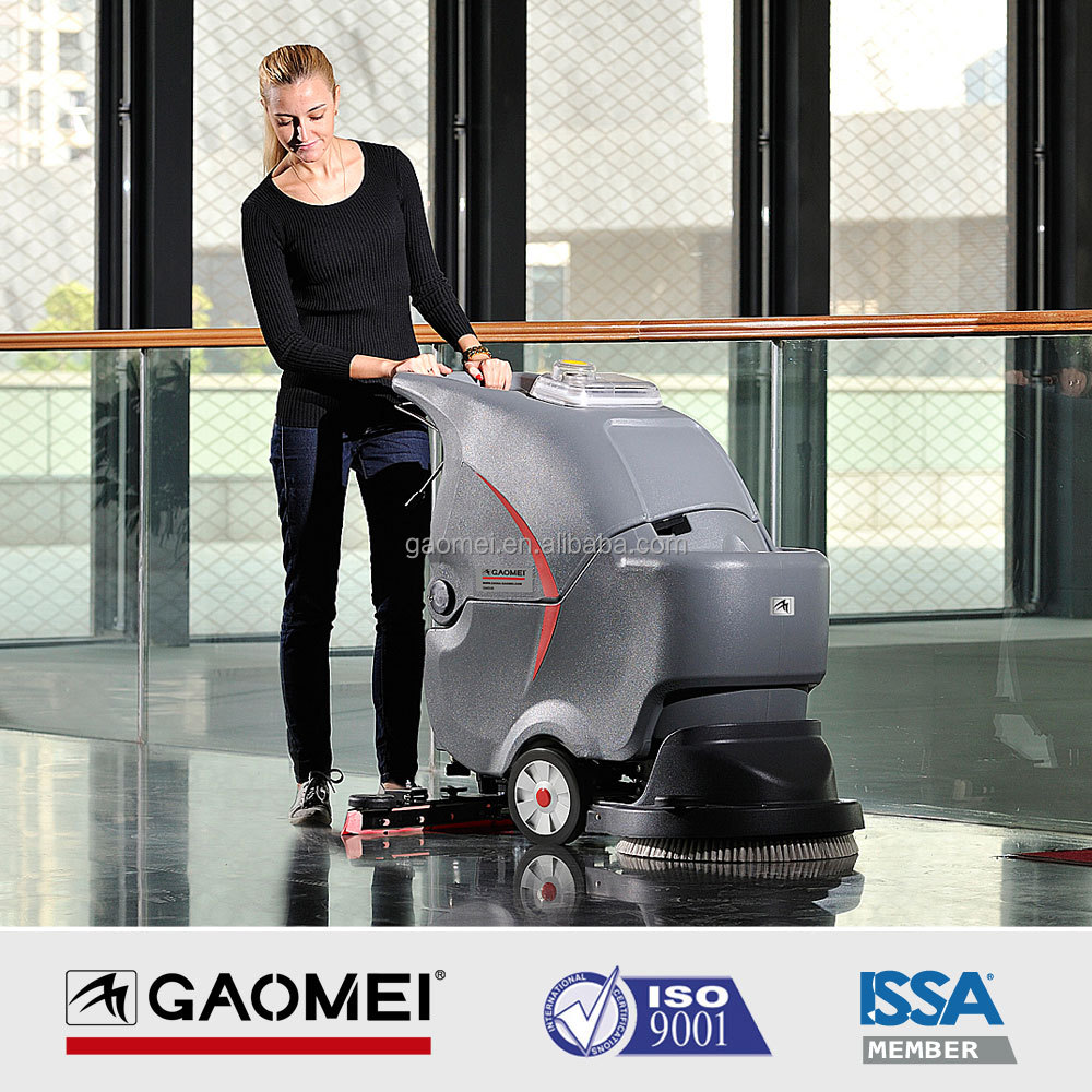 GM50B Warehouse Used Manual Floor Cleaning Scrubber Machine
