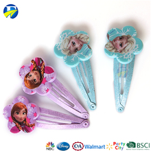 FJ brand baby BB hair clip frozen hair accessories sets printing infant kids hair clip