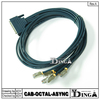 CAB-OCTAL-ASYNC Cisco Compatible 8-Lead Octal Cable 68-Pin to 8-Male RJ45s