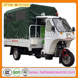 China Manufactor 200cc Used Ambulance Tricycle For Sale